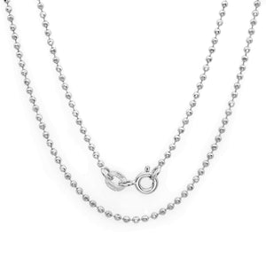 Sterling Silver 1.5mm Bead Chain