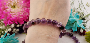 Super 7 Melody Stone Natural Gemstone 9-10mm Bead Bracelet