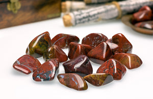 Chestnut Jasper Tumbled Polished Gemstone