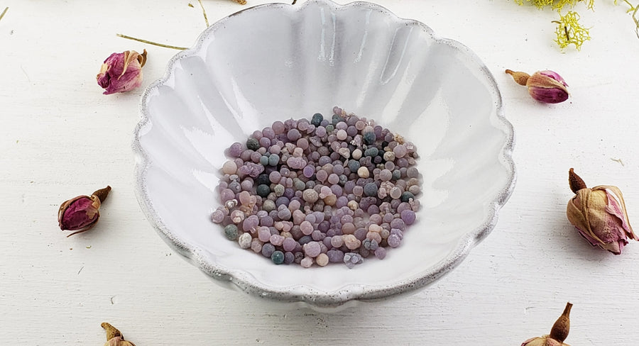 Bag Of Grape Agate Gemstone Pebbles - Botryoidal Chalcedony Natural Stones