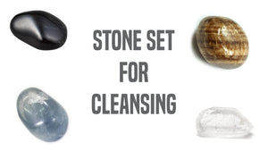 Cleansing Gemstone Pocket Stone Set