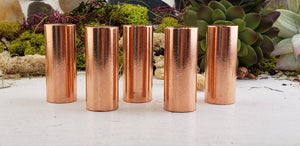 Copper Gemstone Rod Cylinder