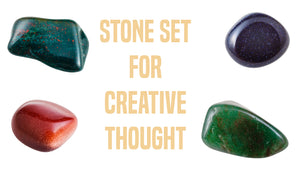 Creativity Gemstone Pocket Stone Set