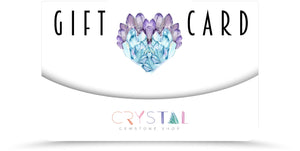 Gift Card - The Perfect Gift for the Crystal Lover in Your Life!