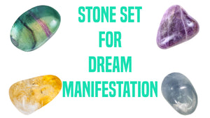 Dream Manifestation Gemstone Pocket Stone Set