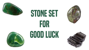 Good Luck Gemstone Pocket Stone Set