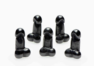 Hematite Polished Phallus - Mini