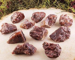 Dark Red Calcite Natural Raw Gemstone & Rough Gemstones
