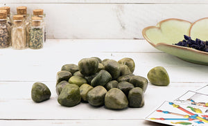 Vesuvianite Tumbled Polished Gemstone