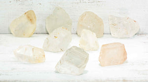 Rough Quartz Crystal Raw Natural Gemstone