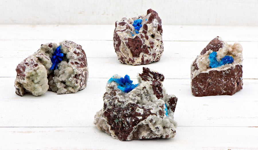 Cavansite Gemstone Cluster - The Psychic Mind Stone Natural Stones