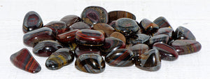 Tiger Iron Tumbled Polished Gemstone