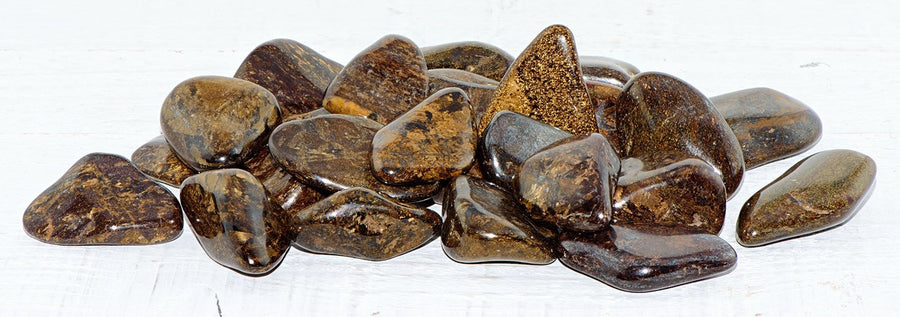 Bronzite Tumbled Polished Gemstone