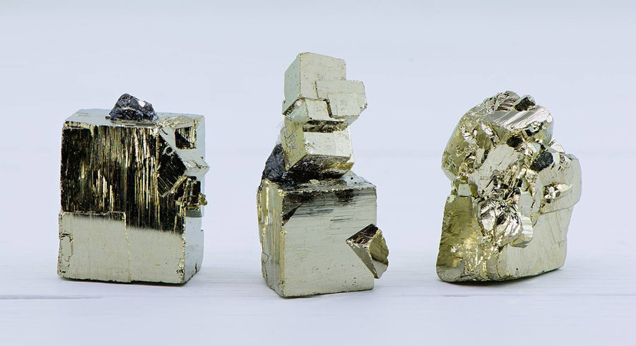 Pyrite Fools Gold Gemstone Cube
