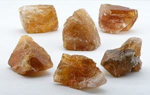 Honey Calcite Natural Gemstone Cluster