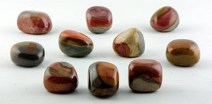 Polychrome Jasper Tumbled Polished Gemstone