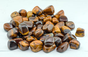 Desert Sun Jasper Tumbled Polished Gemstone