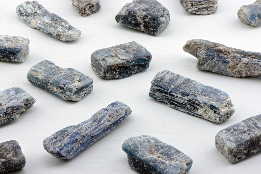 Blue Green Kyanite Natural Raw Gemstone
