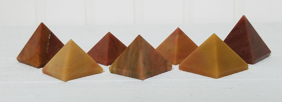 Mookaite Gemstone Pyramid