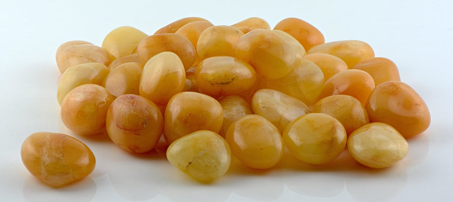 Apricot Quartz Tumbled Polished Gemstone