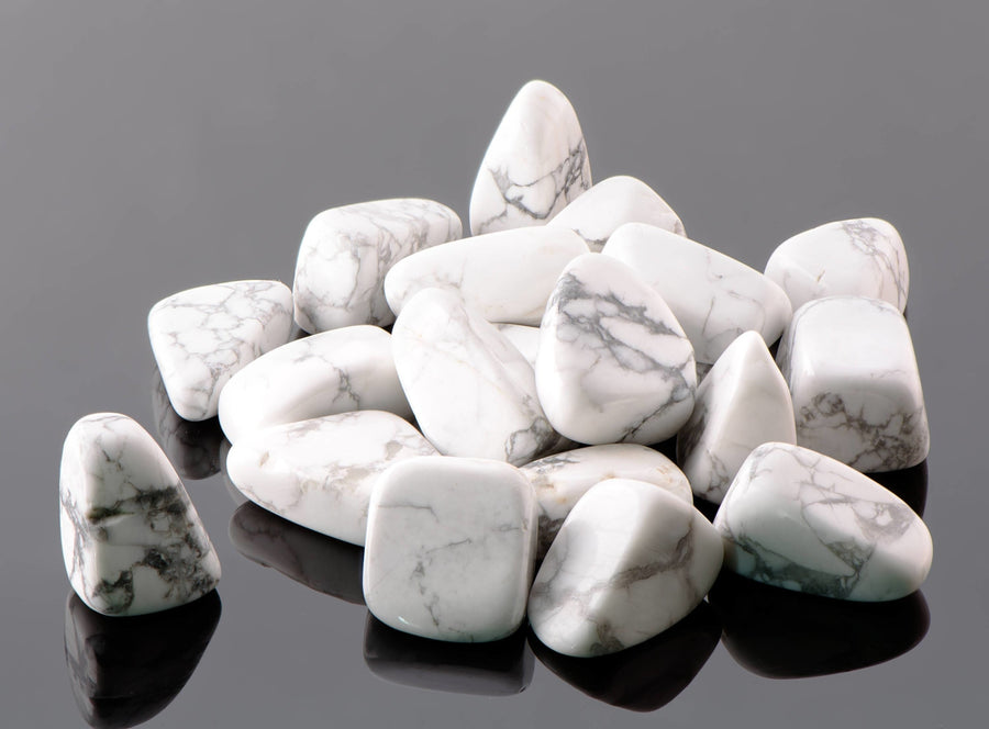 Howlite Tumbled Polished Gemstone