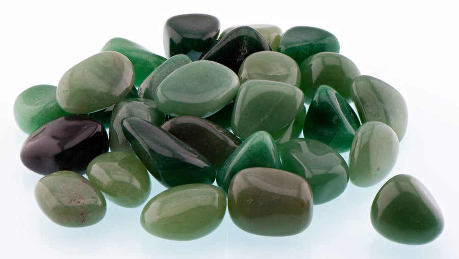 Green Aventurine Tumbled Polished Gemstone