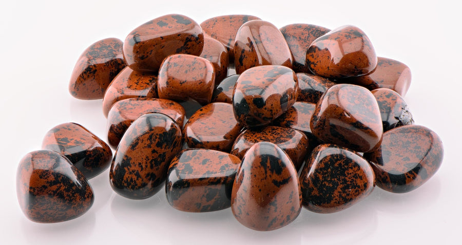 Mahogany Obsidian Tumbled Polished Gemstone