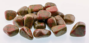 Unakite Tumbled Polished Gemstone