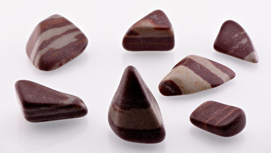 Shiva Lingam Tumbled Gemstone