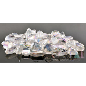 Angel Aura Quartz Tumbled Polished Gemstone