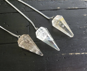 Quartz Polished Pendulum Gemstone Polished
