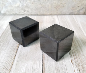 Shungite Gemstone Polished cube