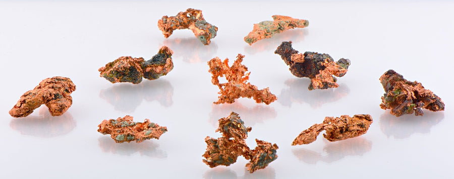 Natural Copper Nuggets Freeform Raw