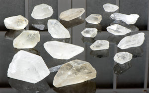 Raw Rough Quartz Gemstone Points - Stone Of Embodiment Power & Gemstones