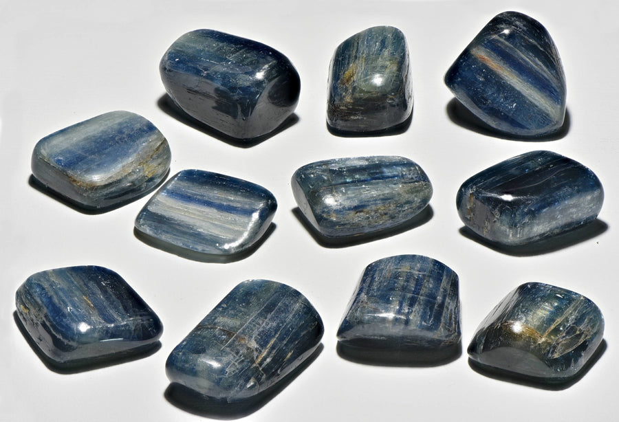 Blue Kyanite Polished Tumbled Gemstone