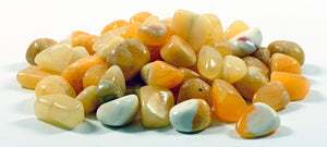 Orange Calcite Tumbled Polished Gemstone