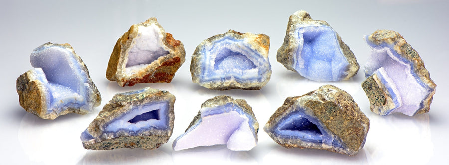 Blue Chalcedony Natural Raw Rough Gemstone