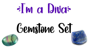 I'm a Diva Gemstone Pocket Stone Set