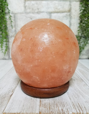 Himalayan Salt Lamp Round Sphere Orb