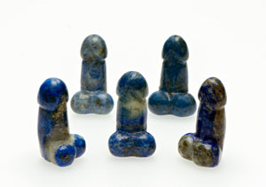Lapis Lazuli Polished Phallus - Small Gemstone Carvings