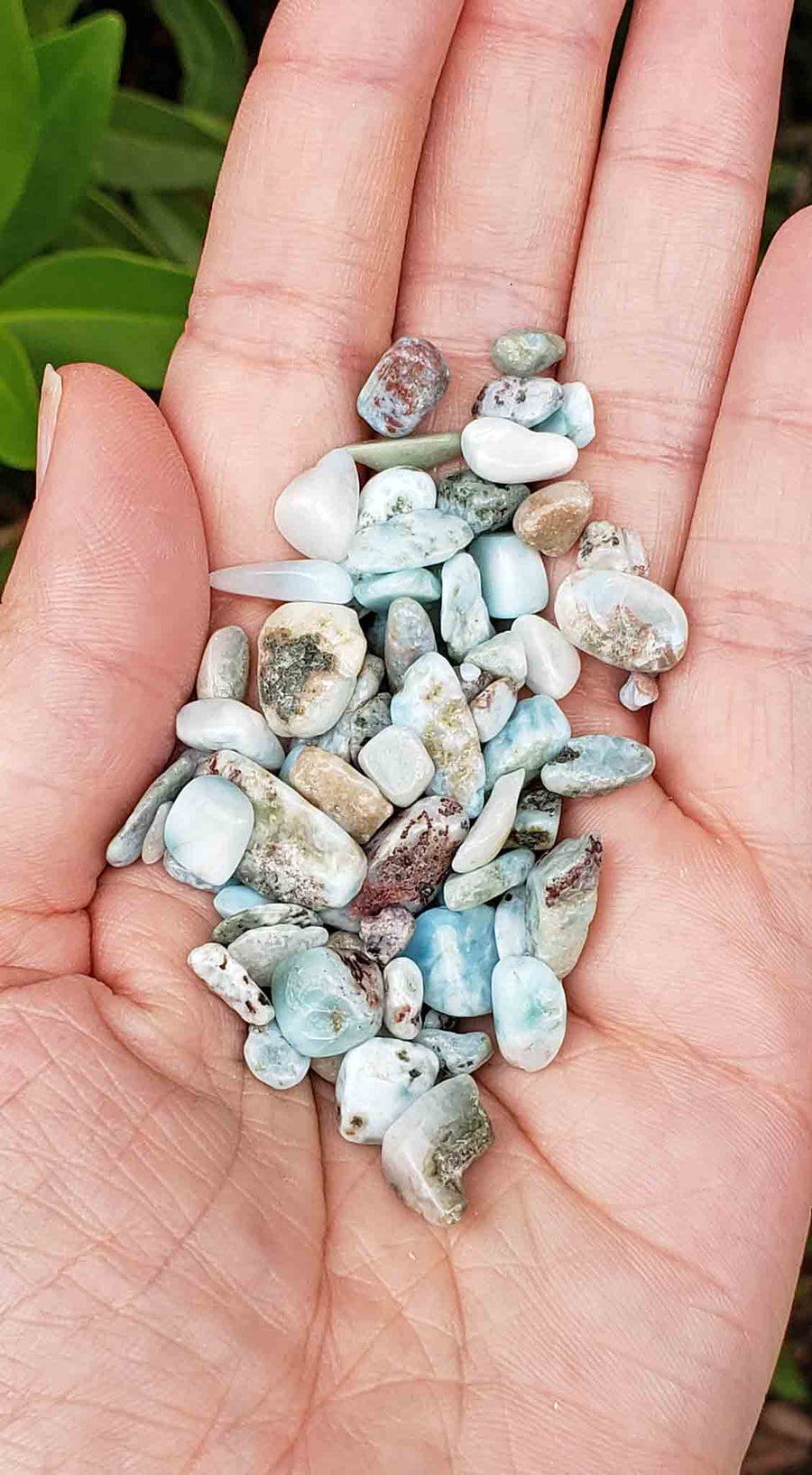 Larimar Natural Gemstone Chips
