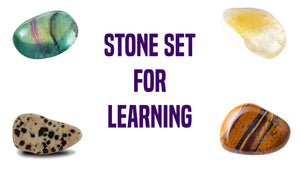 Learning Gemstone Pocket Stone Set
