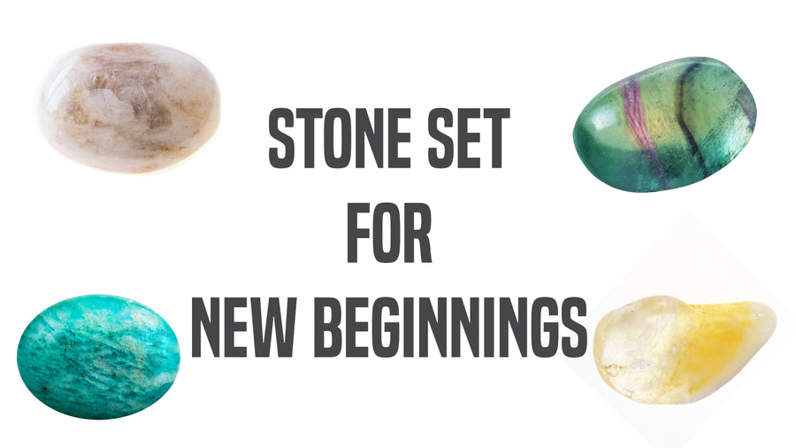 New Beginnings Gemstone Pocket Stone Set
