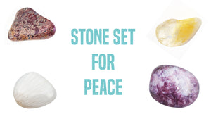 Inner Peace Gemstone Pocket Stone Set