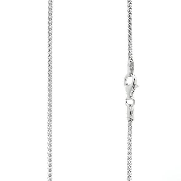 Sterling Silver 1.5mm Popcorn Chain