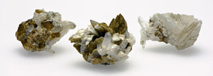 Quartz Siderite Natural Raw Gemstone Cluster