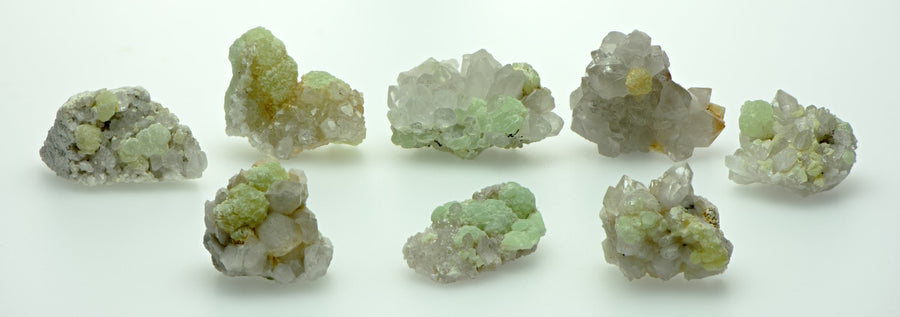 Prehnite Quartz Gemstone Natural Raw Cluster