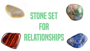 Relationships Gemstone Pocket Stone Set