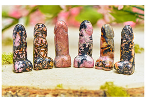 Rhodonite Polished Phallus - Small
