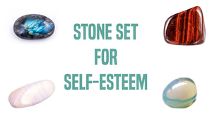 Self-Esteem Gemstone Pocket Stone Set